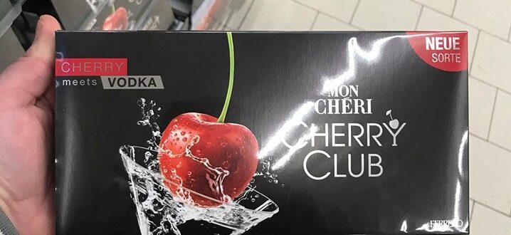 Mon Chéri Cherry meets Vodka