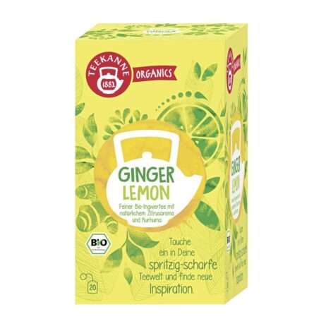 Teekanne Organics Ginger Lemon