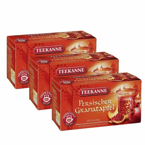 Teekanne Sweet Persian Pomegranate & Peach Fruit Tea