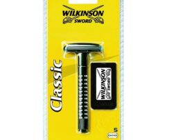 Wilkinson Sword classic razor handle and 5 blade