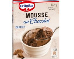 Dr. Oetker Mousse Classic Chocolate with chocolate chips