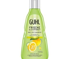 Guhl Freshness & Lightness Anti-Fat Shampoo - with yuzu citrus - for normal to fast oily hair