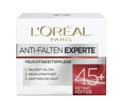 L'Oréal Paris 45+ anti-wrinkle moisturizer