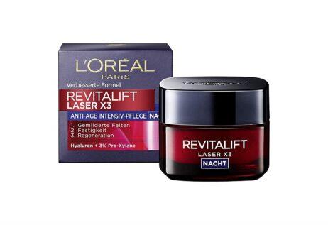 L'Oréal RevitaLift Laser X3 Anti-Age intensive care night cream - 50 ml / 1.69 Fluid Ounces