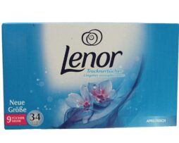 Lenor Fabric Softener Aprilfrisch Tumble Dryer Sheets