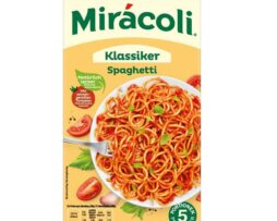 Miracoli Spaghetti Classic with tomato sauce from Germany - 5 portions - 616g / 21.7 oz