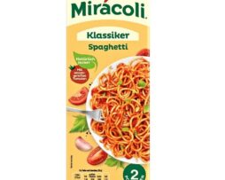 Miracoli Spaghetti with tomato sauce, 2 portions - from Germany - 285g - 10 oz