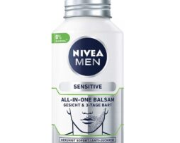 NIVEA MEN Sensitive All-In-One Balm & 3-day beard - itch relieving facial care for men
