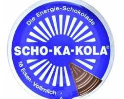 Scho-Ka-Kola - Caffeine Milk Chocolate Power Energizer