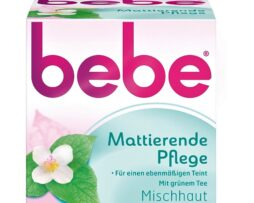 bebe Mattifying Care - Gentle facial cream with green tea for combination skin