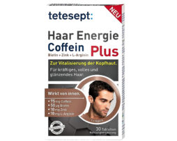 tetesept Hair Energy Caffeine Plus tablets from Germany