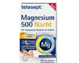 tetesept Magnesium 500 Night