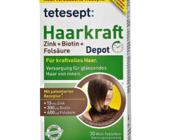 tetesept hair force zinc + biotin + folic acid - depot - from Germany