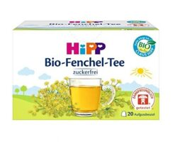 HiPP Organic Fennel Tea for Babies in Teabags