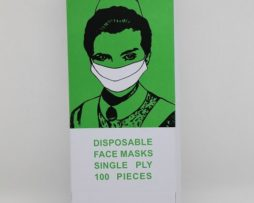 Disposable Face Masks Single Ply with Elastic Ear Loop