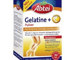 Abtei Gelatine Powder Plus Vitamin C