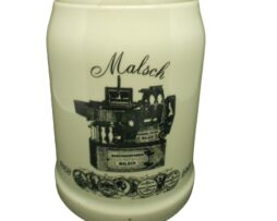 Beer Stein Maschinenfabrik Malsch 1868 - 1988 from Germany