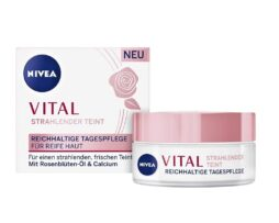 NIVEA Vital Radiant Complexion Rich Day Cream for Mature Skin