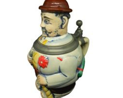 Original Gerzit Gerz German Character Figure Beer Stein