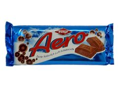 Trumpf Aero Chocolate - delicate whole milk air chocokate - from Germany - 100g 3.5oz