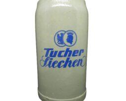 Vintage Tucher Siechen Beer Stein 1L