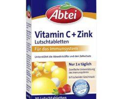 Abtei Vitamin C + Abtei Vitamin C + Zinc lozenges