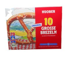 Huober 10 Big Pretzels from Germany