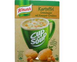 Knorr Cup a Soup Instant Potato Cream Soup with crispy croutons
