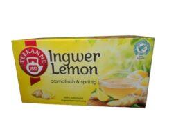 Teekanne Ginger-Lemon from Germany
