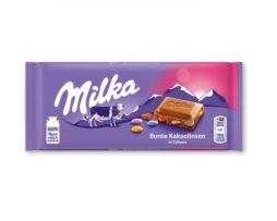Milka Chocolate Colorful Cocoa Lentils Bar
