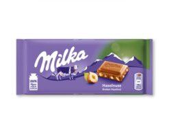 Milka Hazelnut Chocolate Bar