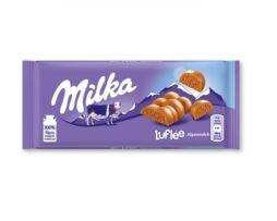 Milka Luflée Chocolate Bar
