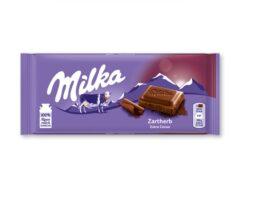 Milka Soft Herb Alpine Milk Chocolate Bar