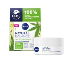NIVEA Natural Balance Day Cream Soothing Care with organic hempseed oil